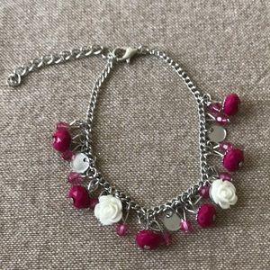 Spoken For Pink Bracelet